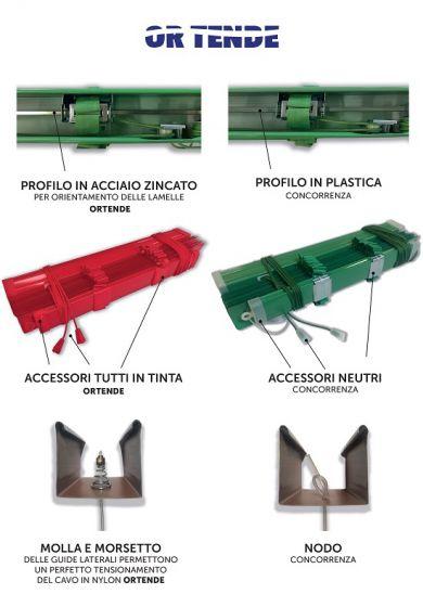 Tende alla veneziana da 50 mm - Nastro in PVC